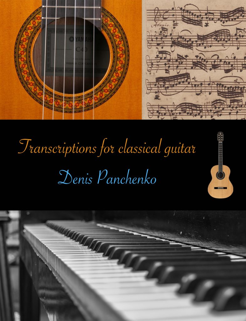 COVER for scores_Transcriptions